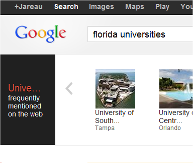 New Google Search Results?